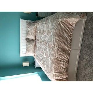 INK+IVY Ellipse Blush Cotton Jacquard Comforter Set