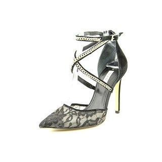 Guess Adabellely Pointed Toe Canvas Heels