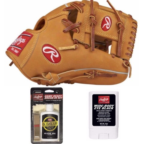 "Rawlings Heart of the Hide All Horween 11.5"" Glove (RHT) with Game Ready Bundle"