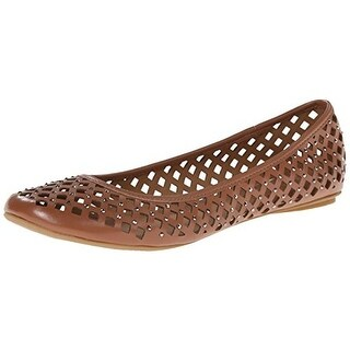 Kenneth Cole Reaction Womens Perforated Slip On Round-Toe Shoes
