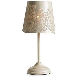 "KANSTAR 15"" Bedside Table & Desk Lamp with Butterfly Cut-out Shade"
