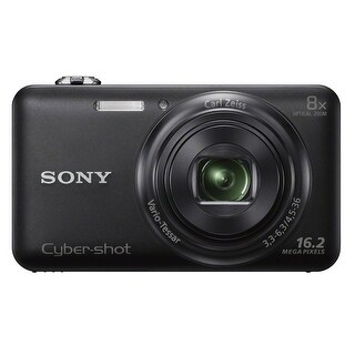 Sony Cyber-shot DSC-WX80 16.1MP Digital Camera (Black)