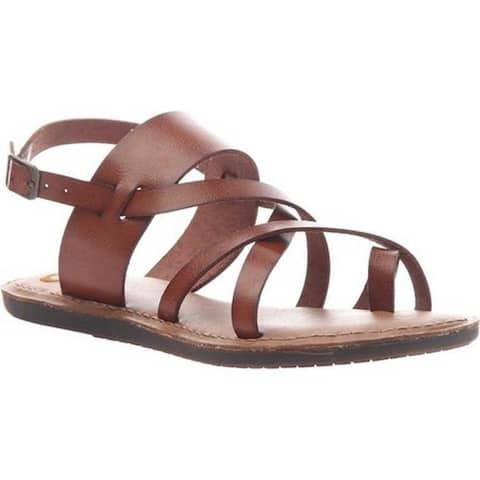 Madeline Women's Divania 2 Slingback Sandal Medium Brown Synthetic