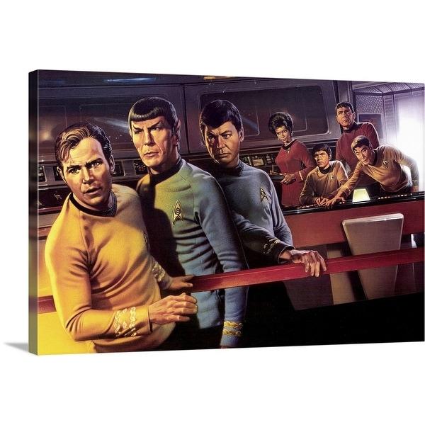 """Star Trek (TV) (1966)"" Canvas Wall Art"