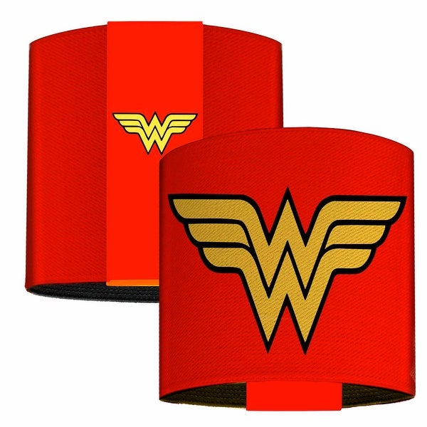 Wonder Woman Logo Red Elastic Wrist Cuff
