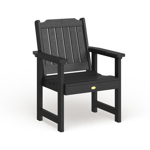Mandalay Eco-friendly Marine-grade Synthetic Wood Garden Chair by Havenside Home