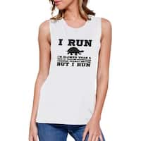 Turtle Work Out Muscle Tee Women's Workout Tank Gym Sleeveless Top