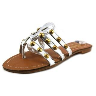 Callisto Rose Women Open Toe Synthetic Thong Sandal