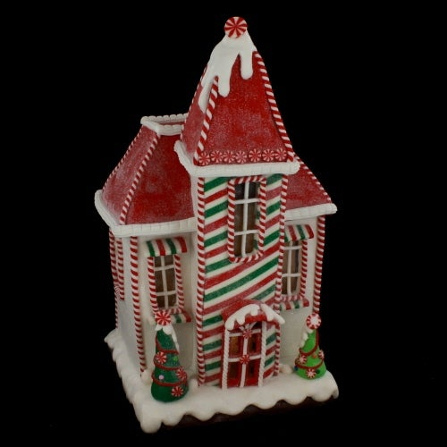 Peppermint Gingerbread House