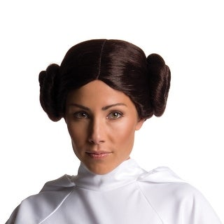 Womens Classic Princess Leia Costume Wig