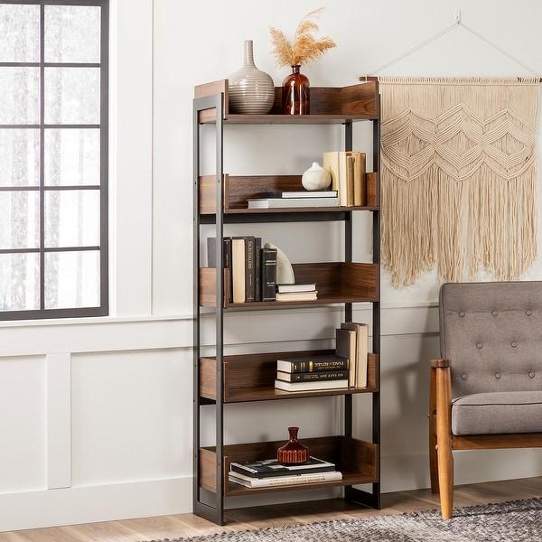Carbon Loft 64-inch Tall Metal Frame 5-Tray Bookshelf. Opens flyout.