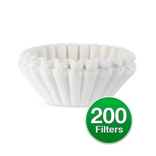 Replacement Coffee Paper Filter for Cuisinart 62912 / #4 Basket Filters (2-Pack) Replacement Coffee Paper Filter