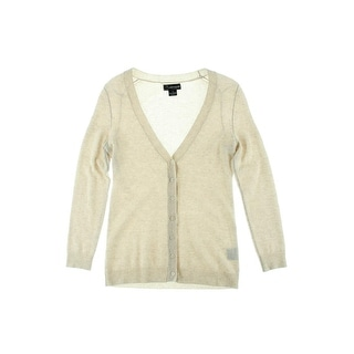 Private Label Womens Cashmere Long Sleeves Cardigan Sweater - M
