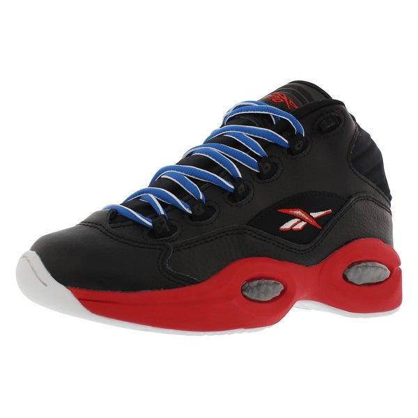 485d4836e9e0 Shop Reebok Question Mid SS Basketball Junior s Shoes - 6 big kid m ...