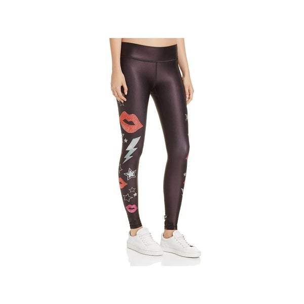 5a1c9853 Shop Terez Womens Athletic Leggings Printed Moisture Wicking - Free  Shipping On Orders Over $45 - Overstock - 20931875