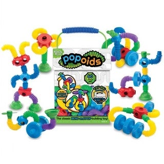 Romper Room(TM) Popoids(TM) Building Set (60 Pieces)