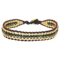 Cotton Wrapped Loom Bracelet - Christmas Party - Exclusive Beadaholique Jewelry Kit