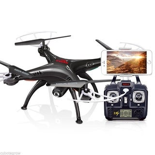 Syma X5SW 2.4Ghz 6-Axis Drone RC Quadcopter RTF Helicopter with wifi HD Camera