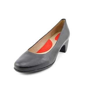 Softwalk Imperial N/S Round Toe Leather Heels