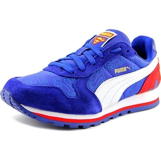 Puma ST Runner Superman Kids Youth Round Toe Synthetic Blue Sneakers