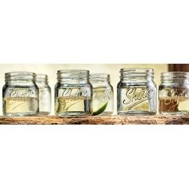 Palais 'Shots' Mason Jar Shot Glasses - Mini Shot Glass Cups - Holds 2.4 Oz - Set of 6 (Clear)