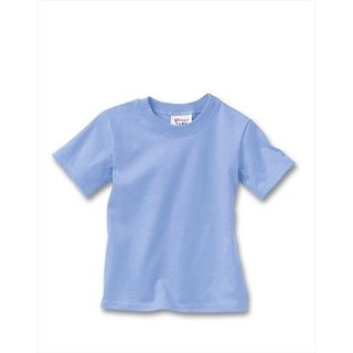 T120 Comfortsoft Crewneck ToDDler T-Shirt Size 2T, Light Blue
