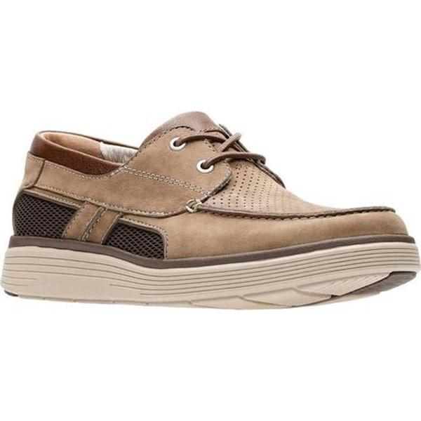 1286b9ea591 Shop Clarks Men s Un Abode Step Boat Shoe Olive Nubuck - Free ...