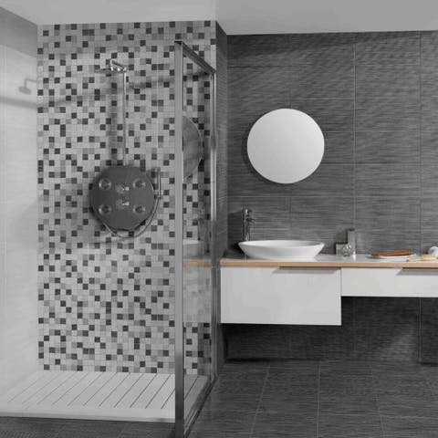 "The Tile Life Minneapolis Ceramic Tile (12 sheets/16.14 sq ft) - 10""X20"" case of 12"