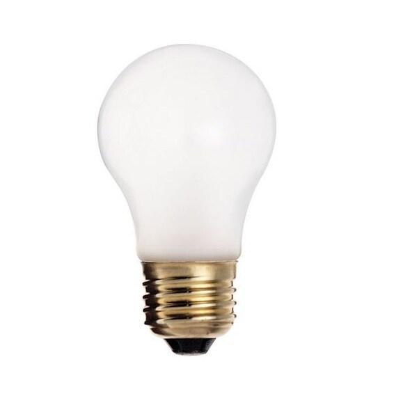 Satco S3739 Medium Base Incandescent Light Bulb, 60 Watts
