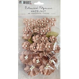 Hazelnut - 49 And Market Botanical Potpourri Flowers 49/Pkg