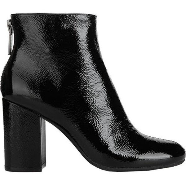 f044263160b Shop Kenneth Cole New York Women s Caylee Bootie Black Patent Leather -  Free Shipping Today - Overstock - 17620811