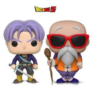 Funko Pop! Animation Dragon Ball Z - Trunks and Master Roshi W/ Staff (2 Items)