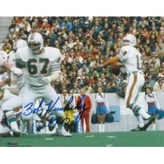 Bob Kuechenberg signed Miami Dolphins 8x10 Photo 170
