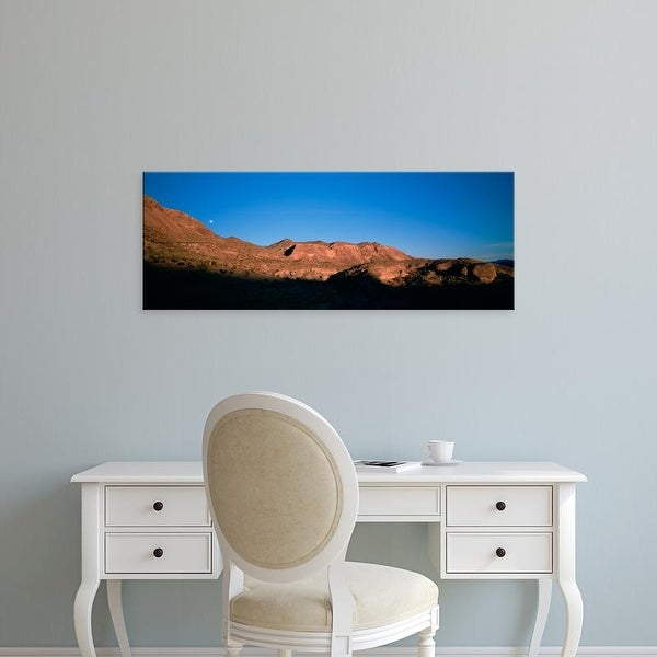 Easy Art Prints Panoramic Images's 'Low Angle View Of Mountains, Big Bend National Park, Texas, USA' Canvas Art