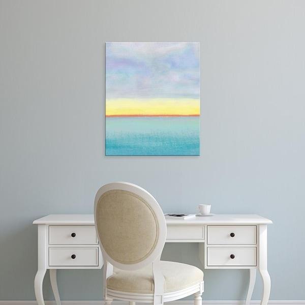 Easy Art Prints Jan Weiss's 'Meadow 2' Premium Canvas Art
