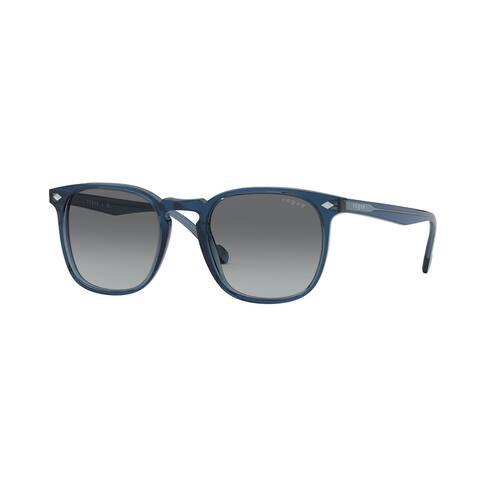 Vogue VO5328S 276011 49 Transparent Blue Man Square Sunglasses