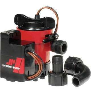 Johnson Pump 38959M JOHNSON PUMP 500GPH AUTO BILGE PUMP 3/4 Inch 12V MAG SWITCH