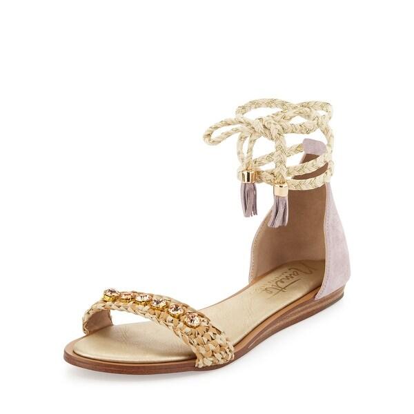 Nanette Lepore Womens magnolia Open Toe Casual Ankle Strap Sandals
