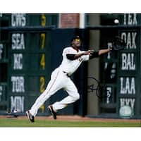Signed Lewis Fred San Francisco Giants 8x10 Photo autographed