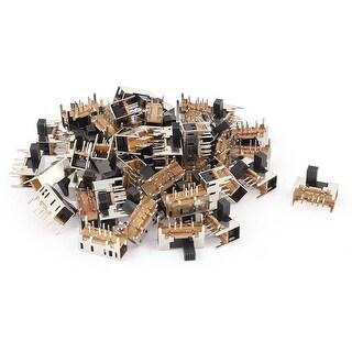 Unique Bargains 50Pcs 8 Pin PCB Mount 3 Position Mini Slide Panel Switch