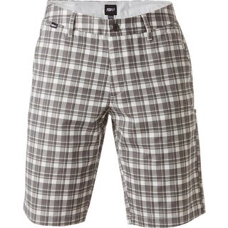 Fox Racing Essex Plaid Short - 19040-089 - Chalk