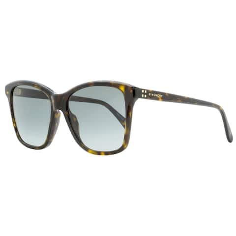Givenchy GV7108S 0869O Womens Dark Havana 55 mm Sunglasses - Dark Havana