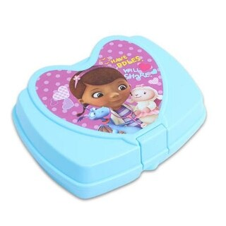 Doc McStuffins Heart Sandwich Box - 48 Units