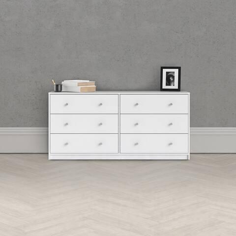 Porch & Den Zoe 6-drawer Double Dresser