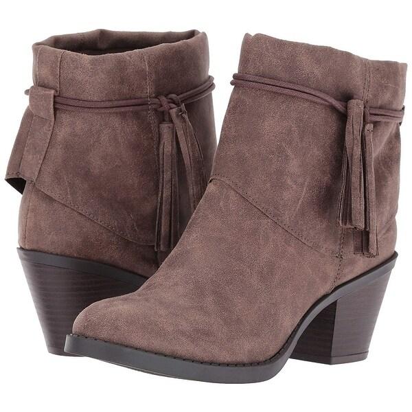 Rampage Womens Ram-Talkback Fabric Closed Toe Ankle Fashion Boots