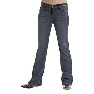 Stetson Western Denim Jeans Womens Destructed Ink 11-054-0816-0070BU