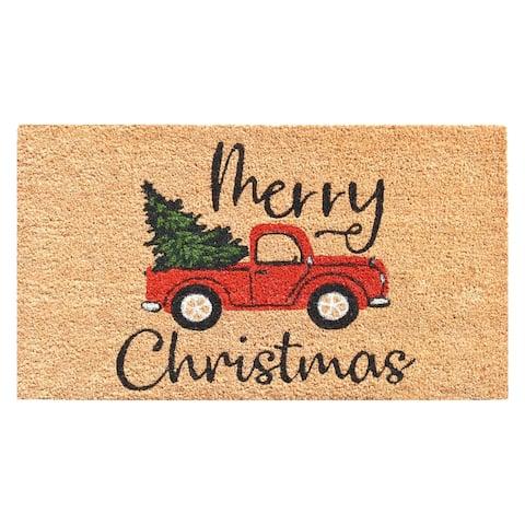 Christmas Memories Doormat - 17 x 29 in