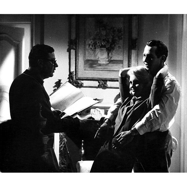 48538e8b Shop Joanne Woodward and Paul Newman on a film set Photo Print - Free  Shipping On Orders Over $45 - Overstock - 25394161