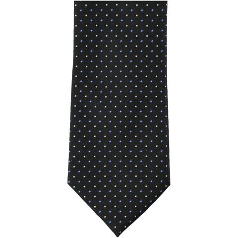 Nautica Mens Two-Tone Dot Self-Tied Necktie - Classic (57 To 59 in.)