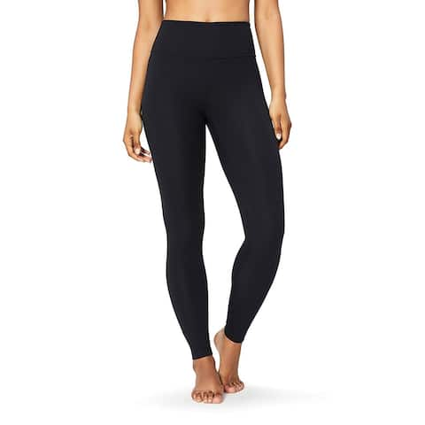 """Core 10 Women's Plus Size Spectrum High Waist Yoga Full-Length Legging - 28"""", black, 2X - 2"""